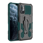 For Xiaomi Redmi Note 10 5G Armor Warrior Shockproof PC + TPU Protective Case(Green)