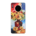For Huawei Mate 30 Pro Oil Painting Pattern TPU Shockproof Case(Vase)