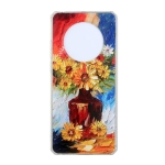 For Huawei Mate 40 Pro Oil Painting Pattern TPU Shockproof Case(Vase)
