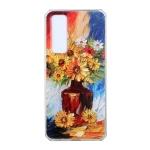 For Huawei nova 7 Pro 5G Oil Painting Pattern TPU Shockproof Case(Vase)