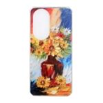 For Huawei nova 8 Pro 5G Oil Painting Pattern TPU Shockproof Case(Vase)