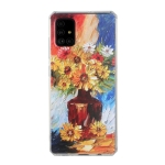 For Huawei P40 Oil Painting Pattern TPU Shockproof Case(Vase)