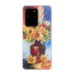 For Huawei P40 Pro Oil Painting Pattern TPU Shockproof Case(Vase)