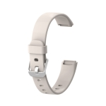 For Fitbit Luxe Silicone Replacement Strap Watchband(White)