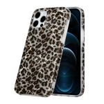 Shell Texture Pattern Full-coverage TPU Shockproof Protective Case For iPhone 12 / 12 Pro(Little Leopard)