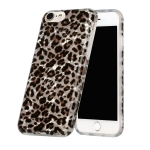 Shell Texture Pattern Full-coverage TPU Shockproof Protective Case For iPhone 7 / 8 / SE 2020(Little Leopard)