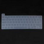 UK Version Laptop Crystal Keyboard Protective Film For MacBook Pro 13.3 inch A2338 / A2251 / A2289 2020 & Pro 16 inch A2141(Transparent)