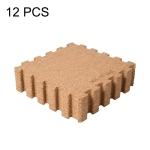 Original Xiaomi Youpin SOO-P3301-NB 12 PCS / Set 180 Degree Bendable Natural Cork Thermostatic Antiskid Mats, Size: 300x300x6.8mm