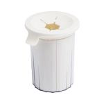 Original Xiaomi Youpin Jordan & Judy Silica Gel Pet Foot Washing Cup Brush (Beige White)