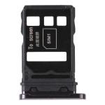 SIM Card Tray + SIM Card Tray for Huawei Nova 7 5G (Black)