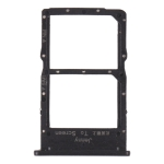SIM Card Tray + NM Card Tray for Huawei Nova 7i (Black)