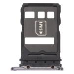SIM Card Tray + NM Card Tray for Huawei P40 Pro (Black)