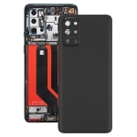 Battery Back Cover With Camera Lens for OnePlus 9R(Frosted Black)