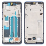 Front Housing LCD Frame Bezel Plate for TCL 10 Plus T782H (Blue)