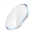 WX-69 10W Ultra-thin Wireless Charger Mirror Wireless Charger for Mobile Phone(White)