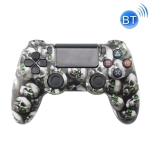 Wireless Bluetooth Game Handle For PS4, Product color: Bluetooth Version (Skull)