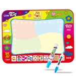 Children Magic Graffiti Water Drawing Mat, Style: Large Four Color-Bagged