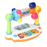 Early Childhood Education Learning Piano Enlightenment Light and Music Machine(Color Box)