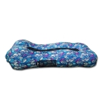 CG-028 Lazy Inflatable Bed Sofa Outdoor Fast Inflatable Bed Size: 190x80x55cm(Blue/Polyester)
