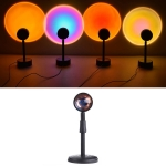 USB Sunset Lamp Live Background Projection Atmosphere Light(Sunset Red)