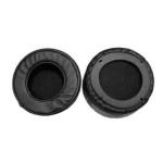2 PCS For ZIDLI ZH17 Thickened Sponge Headset Cover(Black)