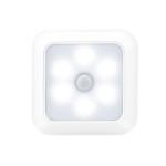 1143 Human Body Sensation Night Light Smart Home Sensing Lights, Light color: White Shell White Light