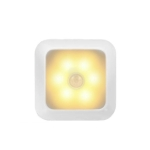 1143 Human Body Sensation Night Light Smart Home Sensing Lights, Light color: White Shell Warm Light