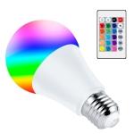 10W Smart Remote Control RGB Bulb Light 16 Color Lamp(White)