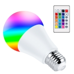 15W Smart Remote Control RGB Bulb Light 16 Color Lamp(Warm White)