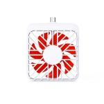 2 PCS K1 Mobile Phone Fan Mini Small Mute Handheld Portable Fan, Interface: Micro USB