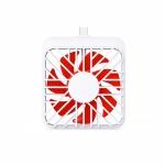 2 PCS K1 Mobile Phone Fan Mini Small Mute Handheld Portable Fan, Interface:  USB-C / Type-C