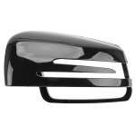 Car Reversing Rearview Mirror Housing for Mercedes-Benz W204 / W212, Style:Left Side(Bright Black)