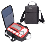 Shockproof Waterproof Single Shoulder Storage Bag Travel Carrying Cover Case Box for FIMI X8 mini(Black + Black Liner)