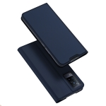 For Vivo V21 DUX DUCIS Skin Pro Series Horizontal Flip PU + TPU Leather Case with Holder & Card Slots(Blue)