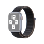 Loop Type Sport Replacement Strap Watchband For Apple Watch Series 6 & SE & 5 & 4 40mm / 3 & 2 & 1 38mm(Charcoal)