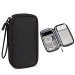 SM03 Multifunctional Digital Accessories Storage Bag with Lanyard(Black)