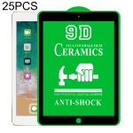 25 PCS 9D Full Screen Full Glue Ceramic Film For iPad Pro 9.7 inch
