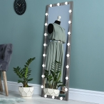 [US Warehouse] 10.4W Wall-mounted Vanity Mirror with Light, Size: 160x60x2.5cm