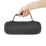 EVA Outdoor Bluetooth Speaker Storage Box with Shoulder Strap & Carabiner For JBL Charge 5(Black)