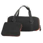 EVA Outdoor Portable Speaker Protective Cover with Shoulder Strap & Carabiner For JBL Charge 5 (Black)