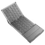 B066 Universal Mini Foldable Bluetooth Wireless Keyboard with Touchpad