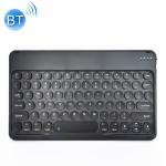 X3 10 inch Universal Tablet Round Keycap Wireless Bluetooth Keyboard (Black)