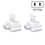 2 PCS XJ01 Power Adapter for iPad 10W 12W Charger & MacBook Series Charger, US Plug