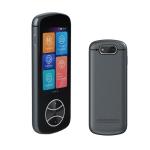 V10 3.0 inch Touch Screen Smart Translator 107 Languages with Offline Translation / Photo Translation(Gray)