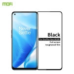 For OnePlus Nord N200 MOFI 9H 2.5D Full Screen Tempered Glass Film(Black)