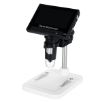 DM4 4.3 Inch LCD Digital Microscope Endoscope with Recording and Stand, HD, 720P, 1000X Zoom