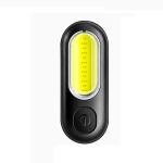GOOFY DT-6005 Bike Light USB Rechargeable Tail Light Mountain Bike Night Warning LED Light, Colour: 6005 Red Blue Light