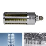 E27 2835 LED Corn Lamp High Power Industrial Energy-Saving Light Bulb, Power: 100W 5000K (White)