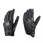 BSDDP A0102 Leather Full Finger Locomotive Gloves Racing Anti-Fall Breathable Touch Screen Gloves, Size: XL(Breathable)