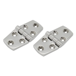 2 Pairs 316 Stainless Steel Six-Hole Hinge, Specification: 38x76x4mm